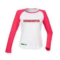 FC Vorwärts Kornharpen Fanshirt LA Damen weiss/rot