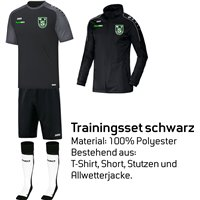 Weistropper SV Trainingsset schwarz Junior