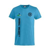 """Radeberger SV T-Shirt """"HANDBALL-WAS SONST"""" türkis Junior"""