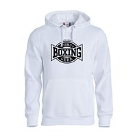 """BC Wismut Gera Hoody """"BOXING CLUB"""" Unisex weiss"""