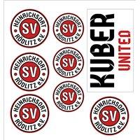SV Heinrichsort / Rödlitz Aufkleberkarte
