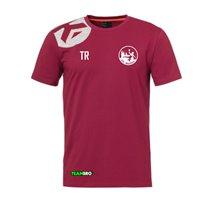 VfL Meißen Baumwoll T-Shirt Junior deep rot