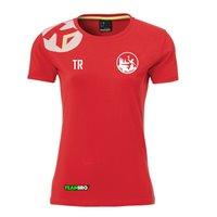 VfL Meißen Baumwoll T-Shirt Damen rot
