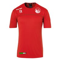 VfL Meißen Poly Shirt Unisex rot