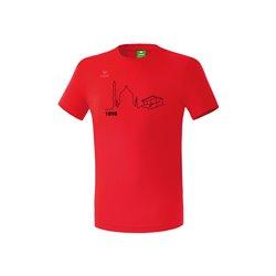 T-Shirt rot (Herren)