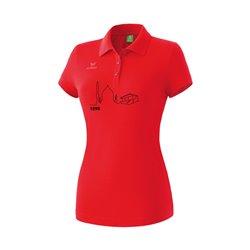 Poloshirt rot (Damen)