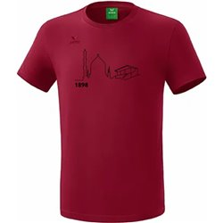 T-Shirt bordeaux (Kinder)