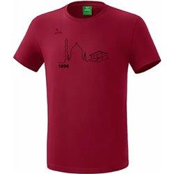 T-Shirt bordeaux (Herren)