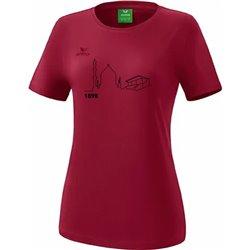 T-Shirt bordeaux (Damen)