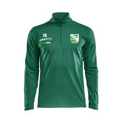 TSV Reinhardtsgrimma Halfzip LS Tee M grün