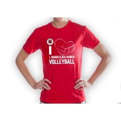DSC Fanshirt I love DSC Volleyball Unisex