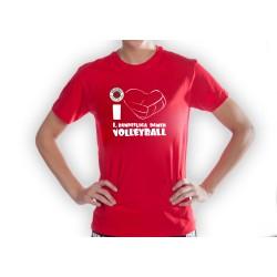 DSC Fanshirt I love DSC Volleyball Kinder