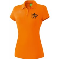 ATW Poloshirt Damen orange