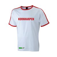 FC Vorwärts Kornharpen Fanshirt Unisex weiss/rot