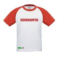 FC Vorwärts Kornharpen Fanshirt Junior weiss/rot