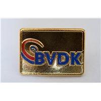 BVDK Pin mit Rand gold