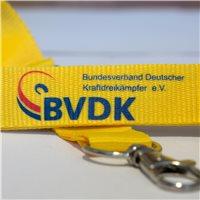 BVDK Schlüsselband gelb