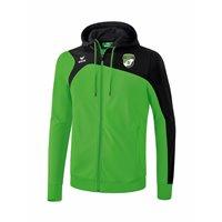 SV Motor Mickten Trainingsjacke m Kapuze grün/schwarz Unisex