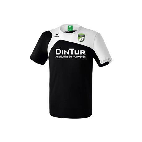 SV Motor Mickten BADMINTON T-Shirt schwarz/weiss Unisex
