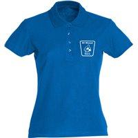 BC Wismut Gera Polshirt Damen royalblau