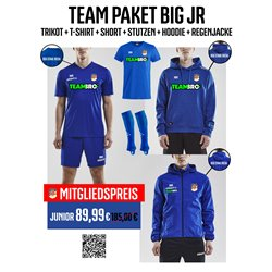 BSG Stahl Riesa Trainingspaket BIG Junior