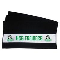 HSG Freiberg Seniordachs Duschtuch schwarz
