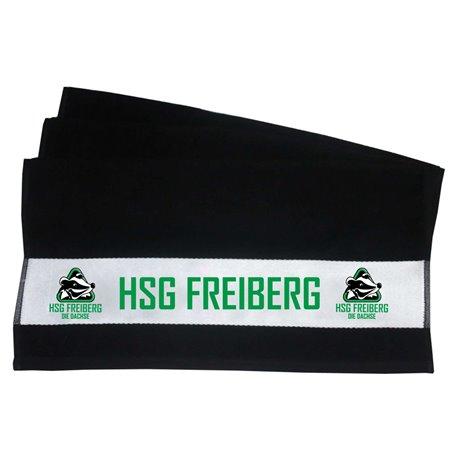HSG Freiberg Juniordachs Duschtuch schwarz