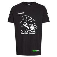 HSG Freiberg Dachsepower Shirt Unisex schwarz