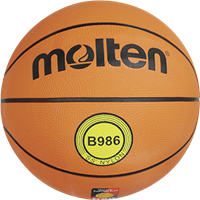 MOLTEN Basketball Top Trainingsball Gummi