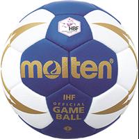 MOLTEN Handball Top Wettspielball mit HBF-Logo