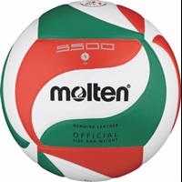 MOLTEN Volleyball Top Wettspielball Echtleder