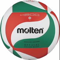 MOLTEN Volleyball Wettspielball Echtleder