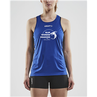 Blue Wonder Dragons Singlet Damen
