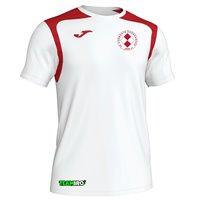 FC Vorwärts Kornharpen Trikot Unisex weiß/rot