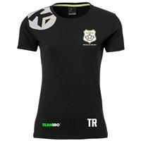 SG Kurort Hartha BW T-Shirt Damen schwarz/grau