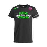 "BSW Lausitz Fanshirt ""STRONG FOR MY TEAM"" Unisex schwarz"