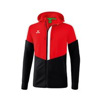 ERIMA Squad Trainingsjacke mit Kapuze Junior